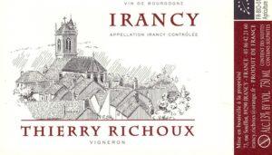 Domaine Thierry Richoux à Irancy