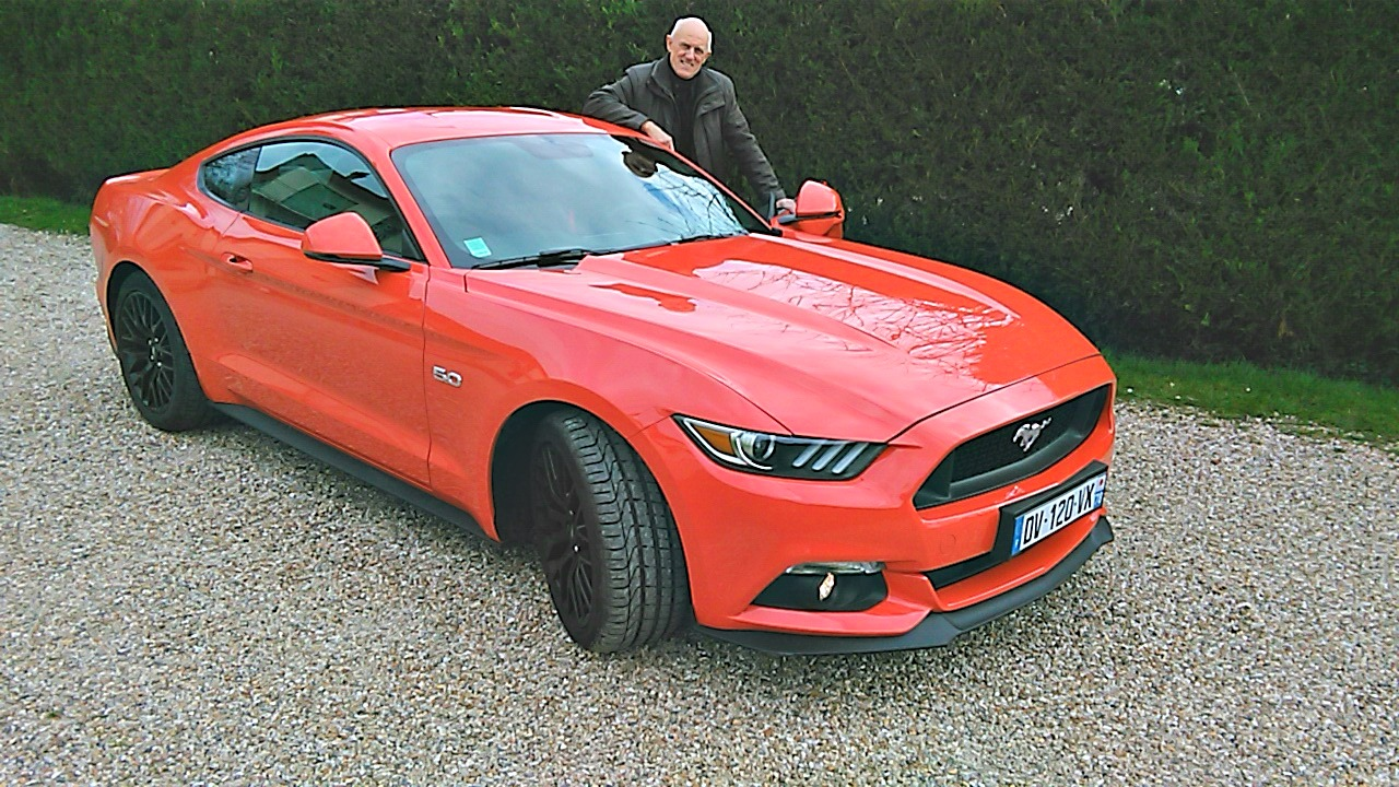 Ford mustang V8 GT