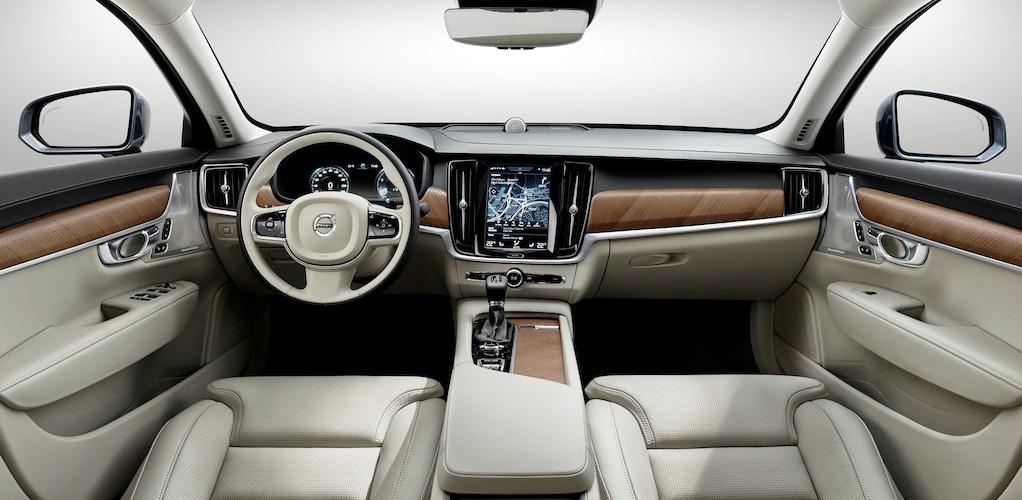 interieur nouvelle volvo S90
