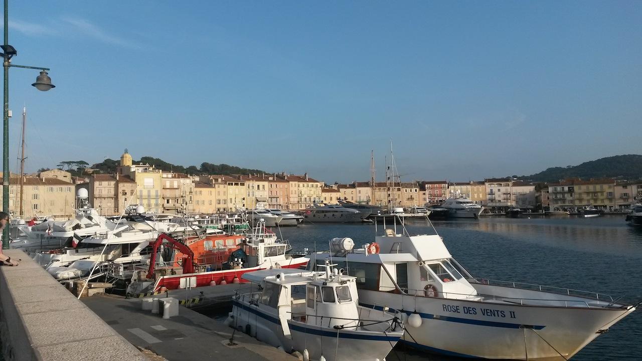 Le port de Saint Tropez