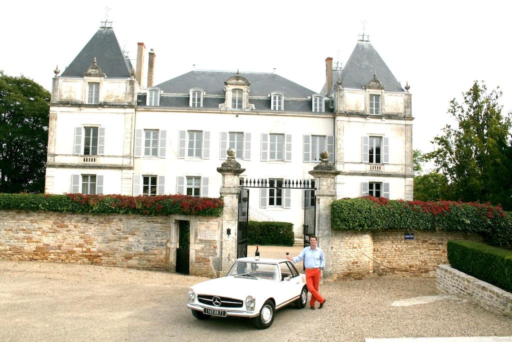 Le Château de Chamirey à Mercurey