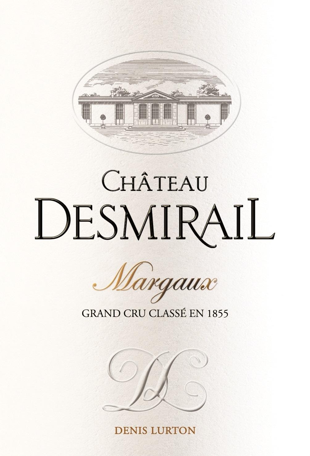 Etiquette château Desmirail