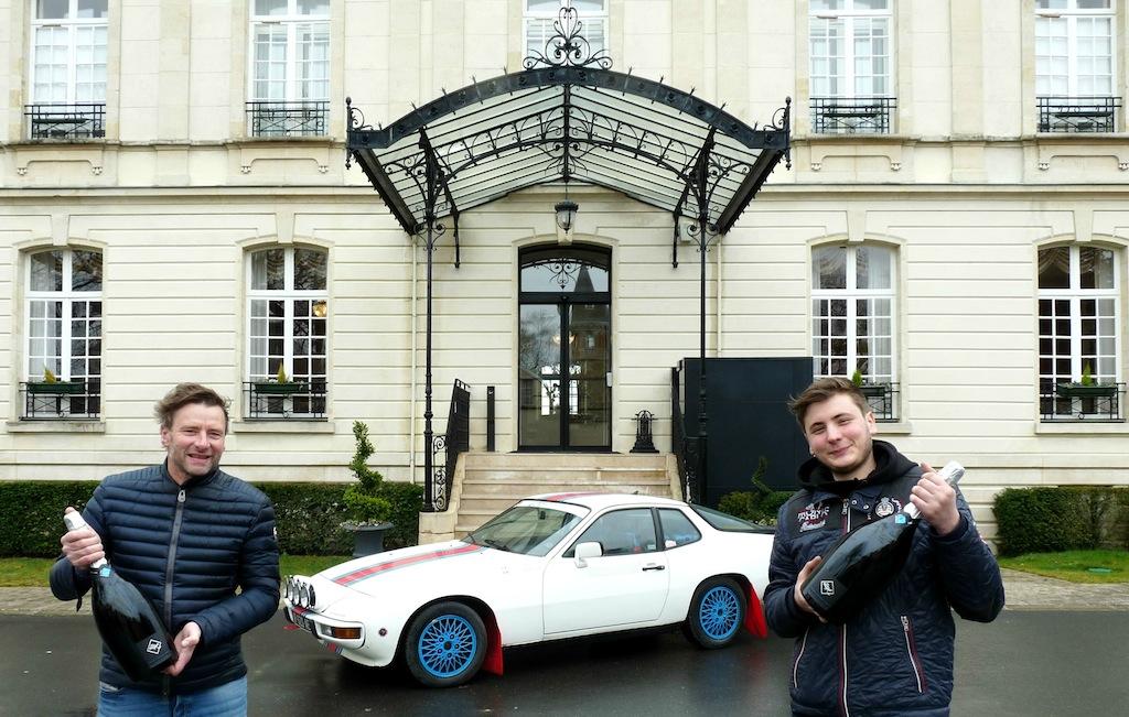 Didier Herbert et sa porsche 924 Turbo
