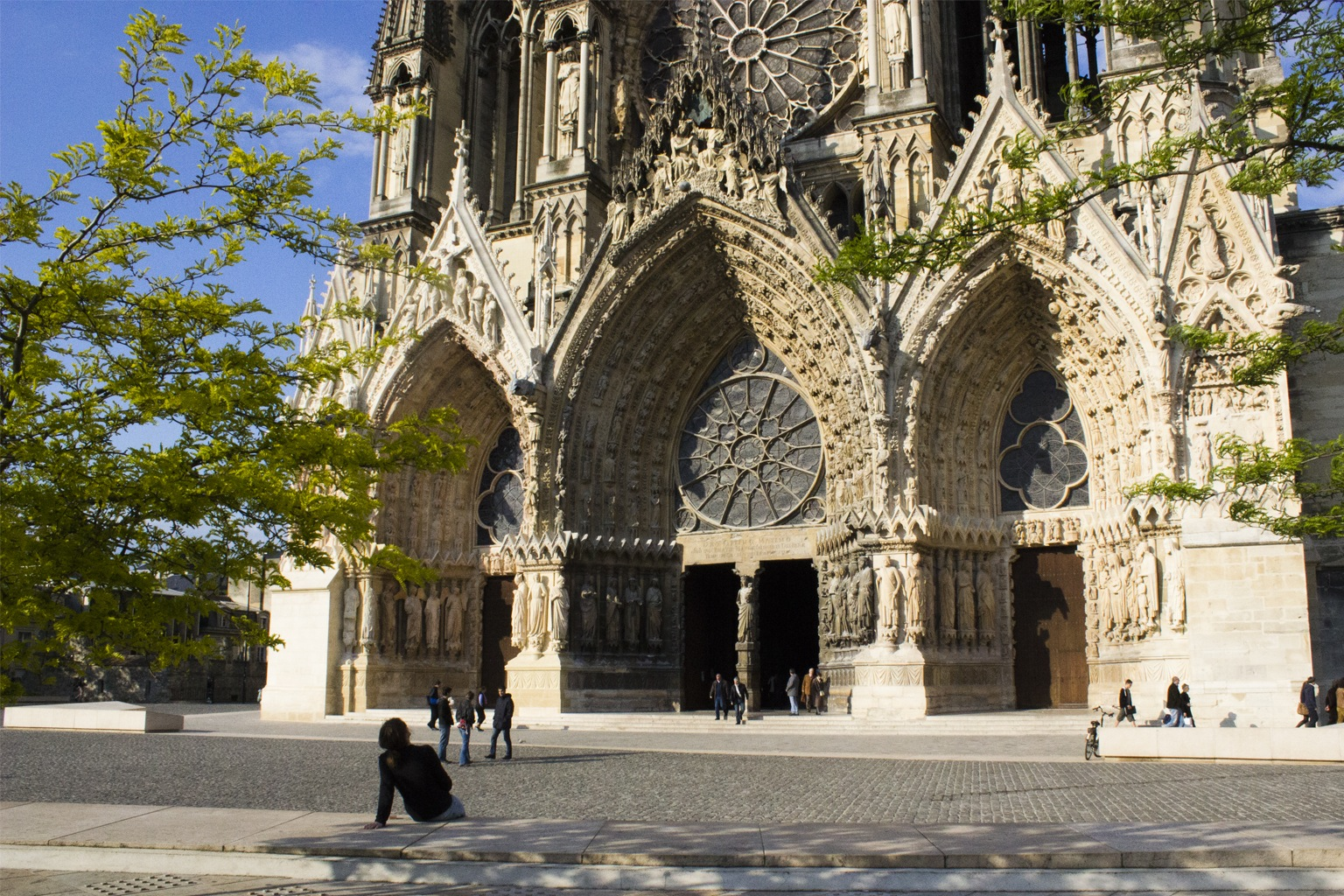 La cathédrale de Reims (Photo Carmen Moya)