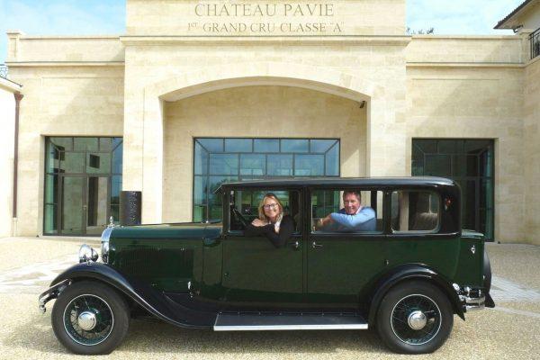 Le cador de Saint Emilion aime les vieilles Citroën