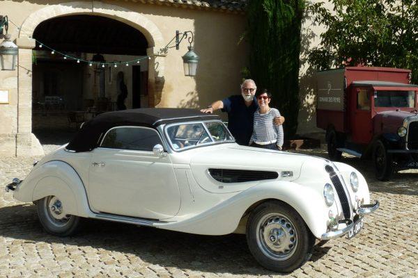 Une BMW encore nickel-chrome pour ses 80 ans