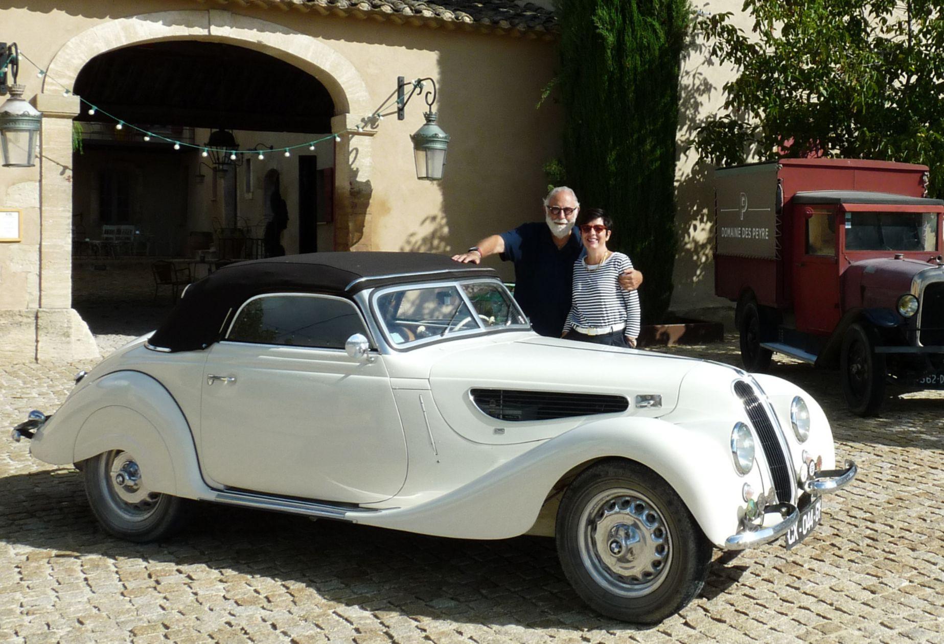 Une bmw encore nickel chrome pour ses 80 ans vins vintage for Garage top car marseille