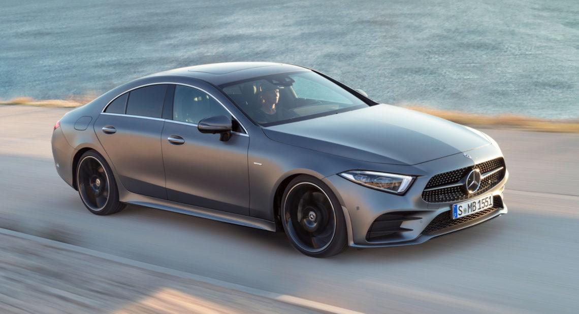 CLS 450, la Mercedes aux portes coupées