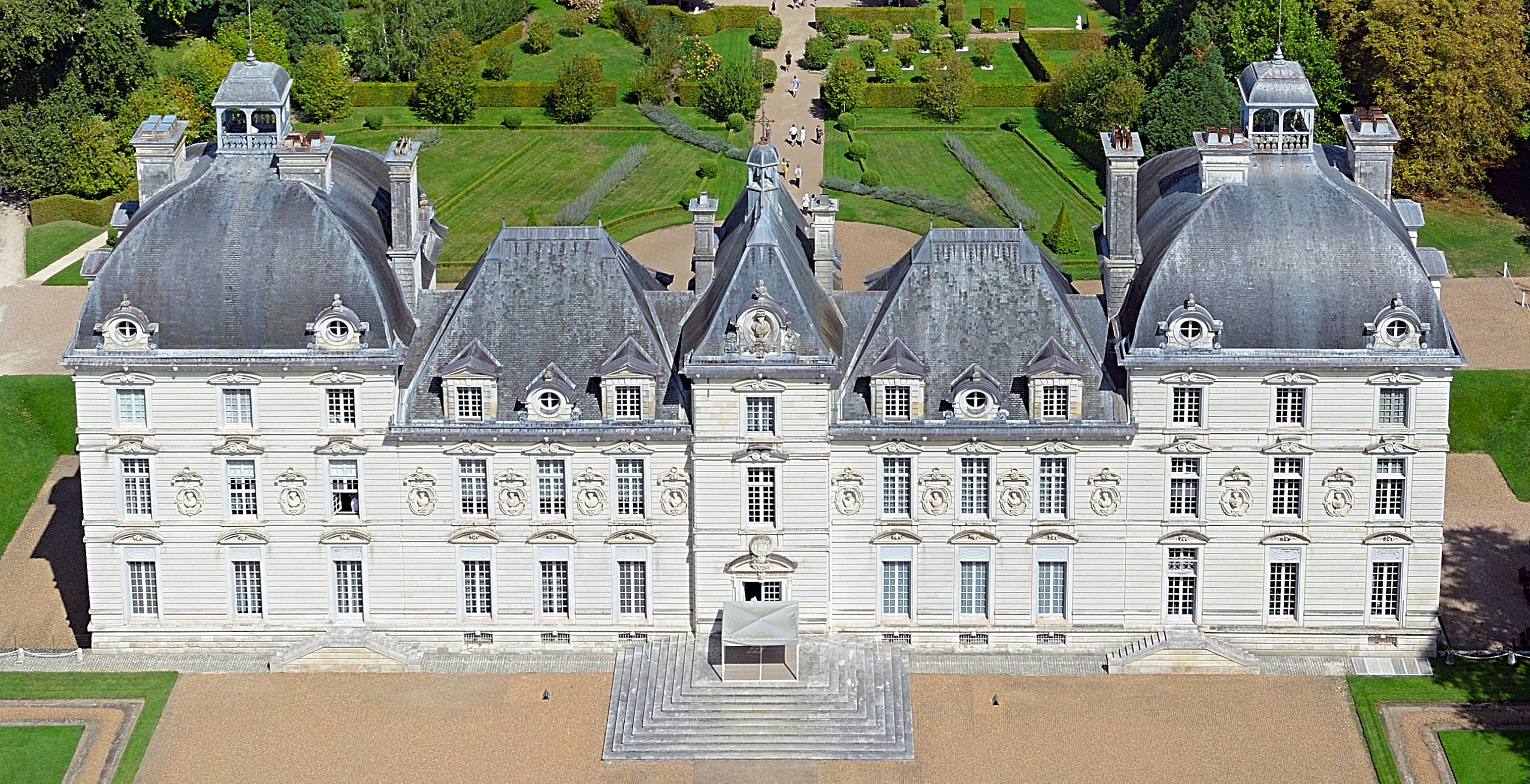 Le château de Cheverny qui a servi de modèle à Hergé pour celui de Moulinsart (photo Chicurel)