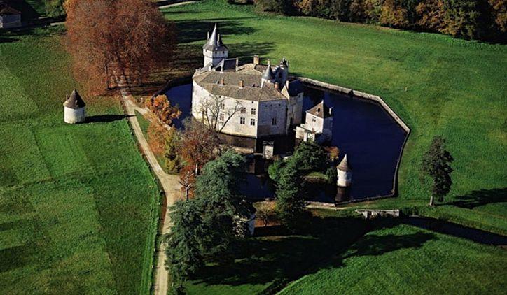 Le château de La Brède où vécut Montesquieu