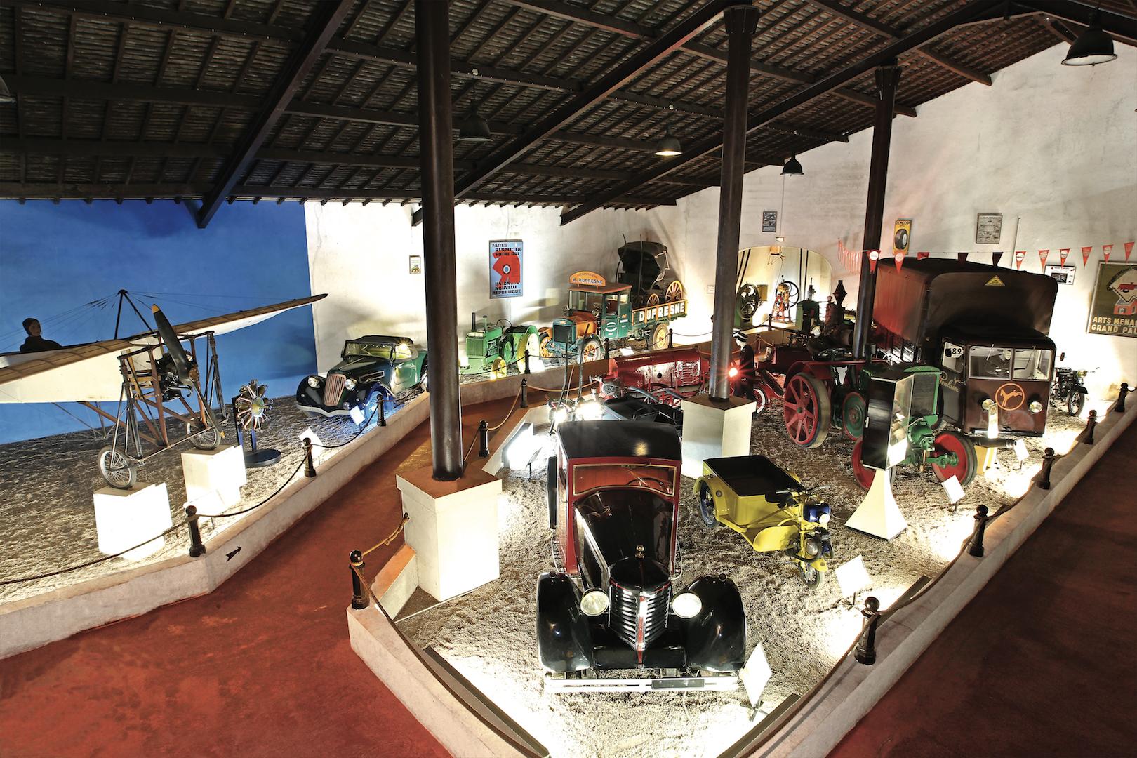 Le musée automobile Maurice Dufresne à Azay-le-Rideau