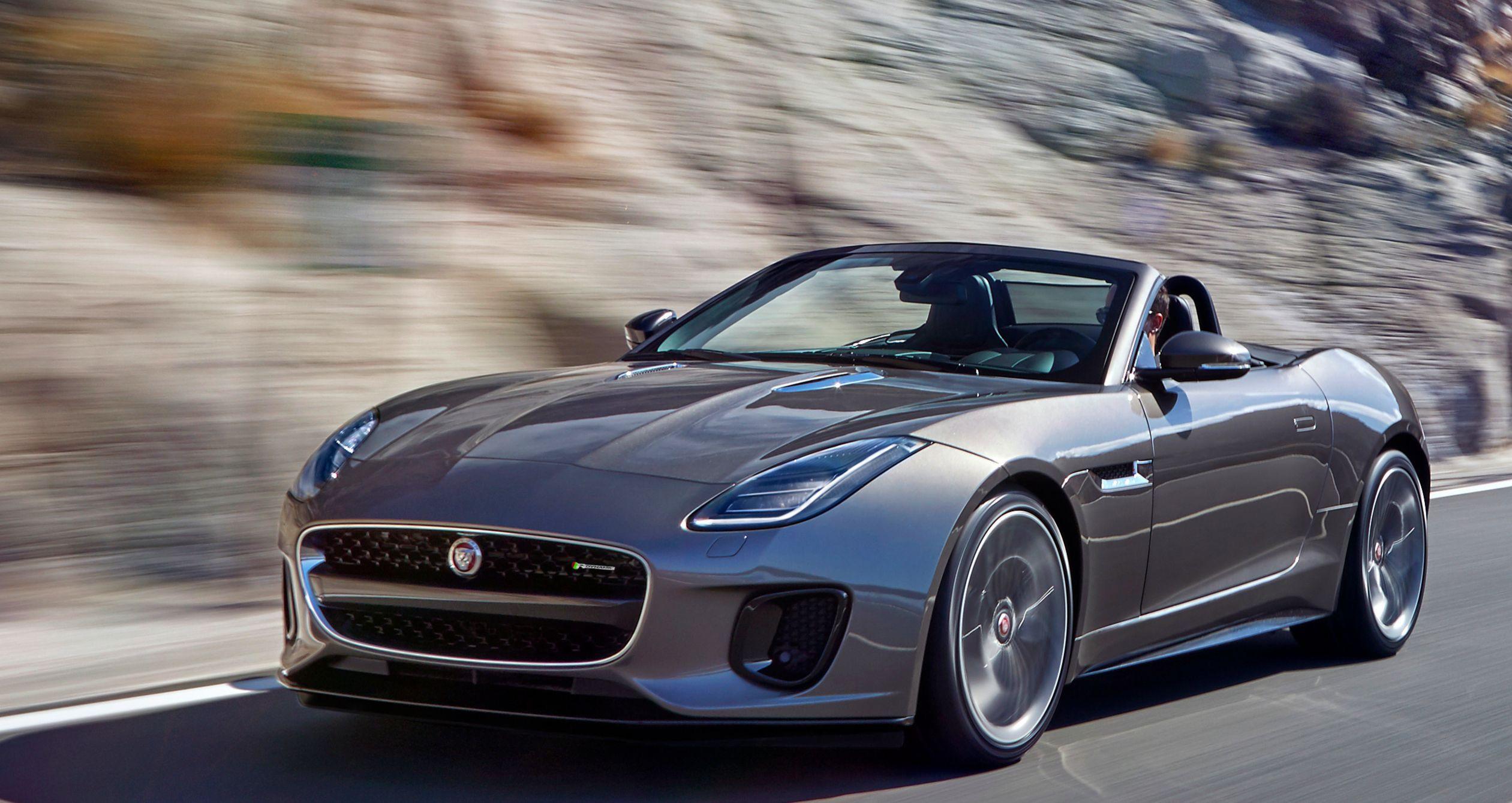 Jaguar F-Type 2 litres : le félin au régime minceur