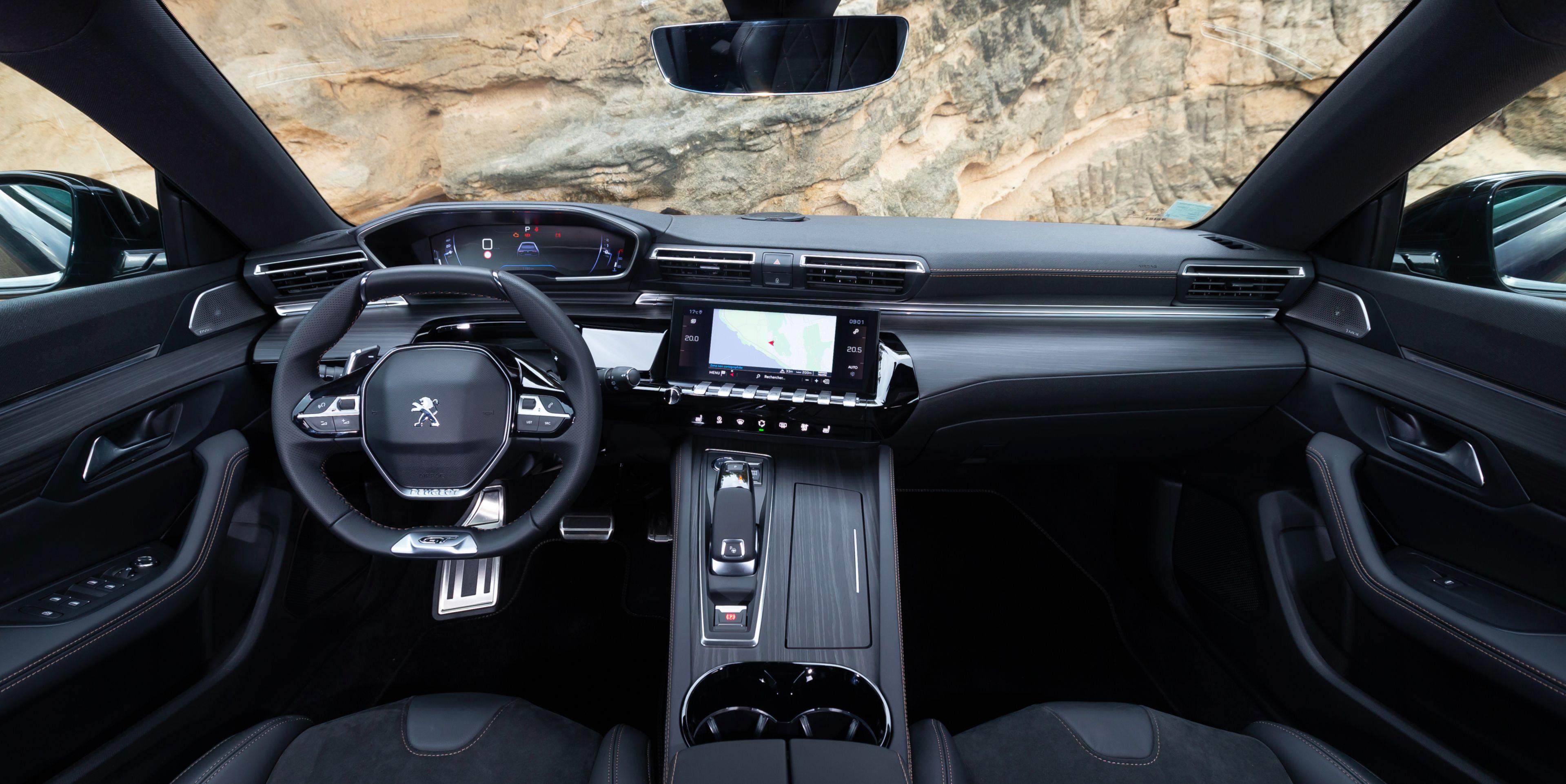 """Peugeot fait son """"breakxit"""" avec la 508 SW"""