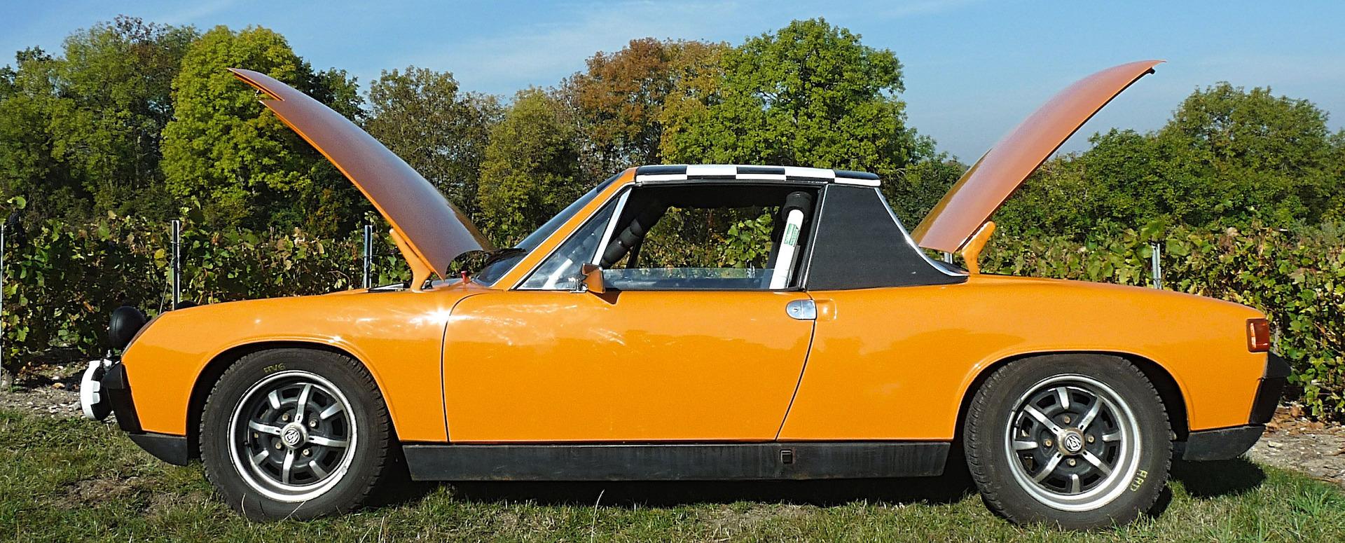 La Porsche 914 d'un Champenois toujours à fond