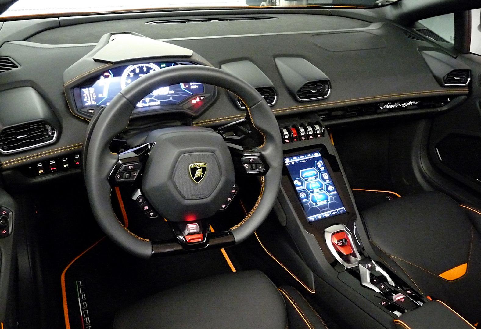 L'ébouriffante Lamborghini Evo spider