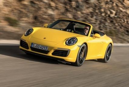 Encore plus de chevaux pour la  Porsche 911 Carrera 4 S cabriolet