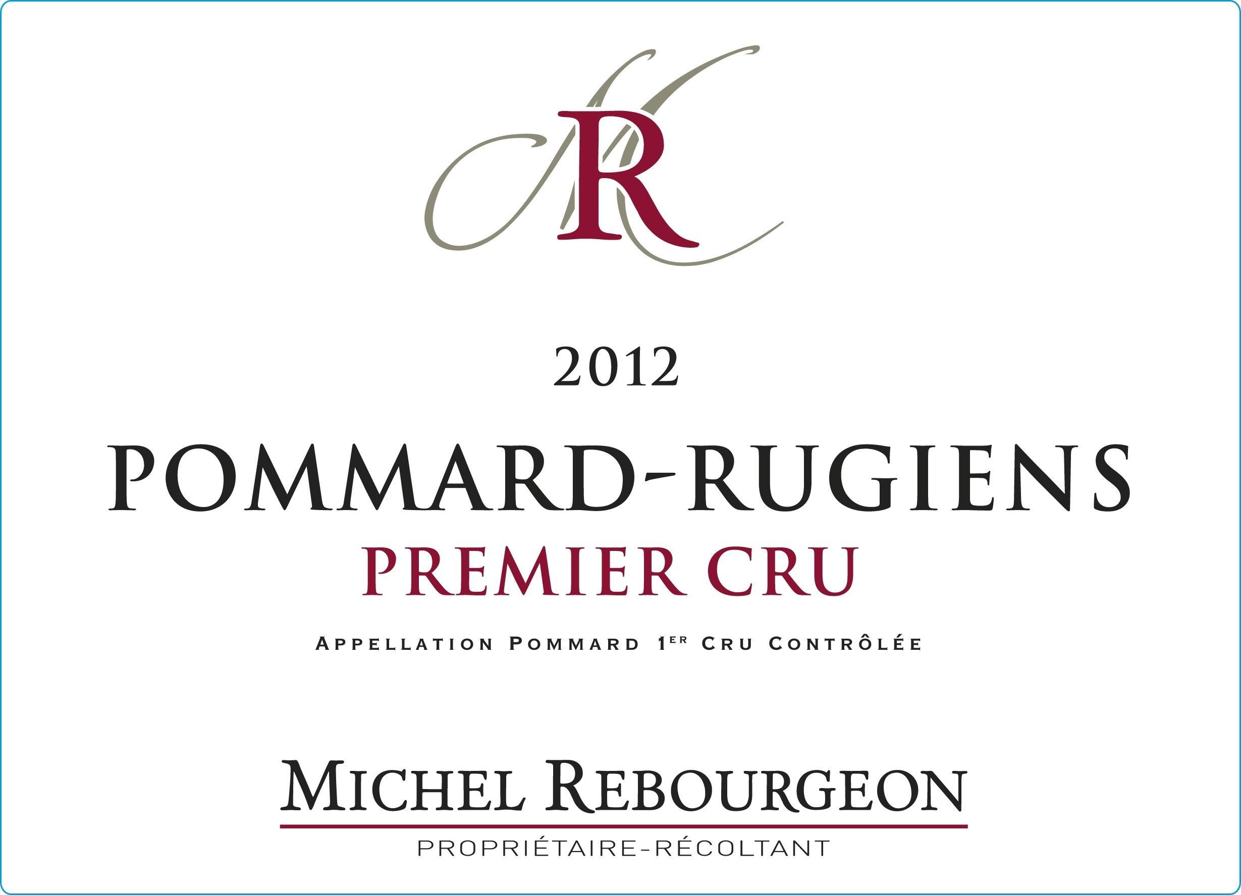Pommard-Rugiens premier cru du domaine Michel Rebourgeon