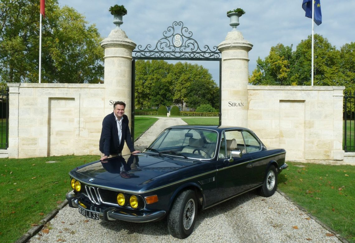 Un grand cru BMW 30 CSI à Margaux