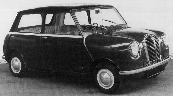 prototype de la mini en 1957