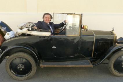Une Peugeot 172 BC  «Taittinger» millésime 1924