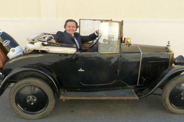 """Une Peugeot 172 BC  """"Taittinger"""" millésime 1924"""
