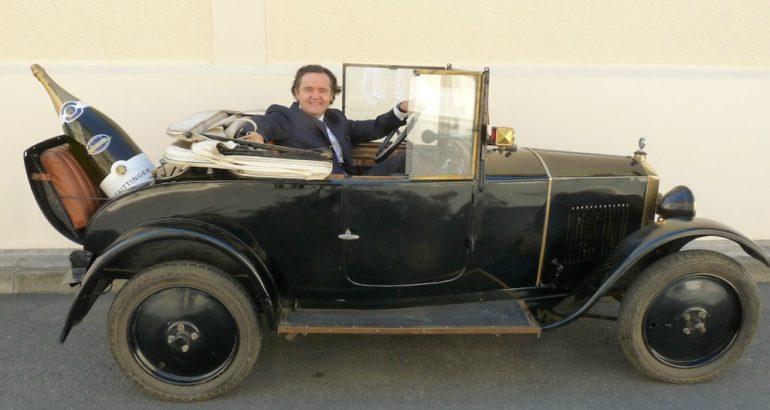 """Une Peugeot 172 BC """"Taittinger"""" millésimée 1924"""