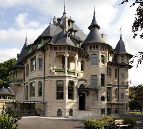 La villa Demoiselle en Art Déco (photo Cecil Mathieu)