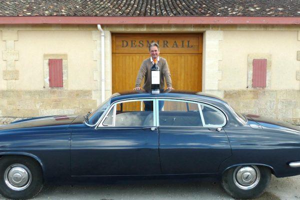 Une auto taille XXL à Margaux, la Jaguar MK X
