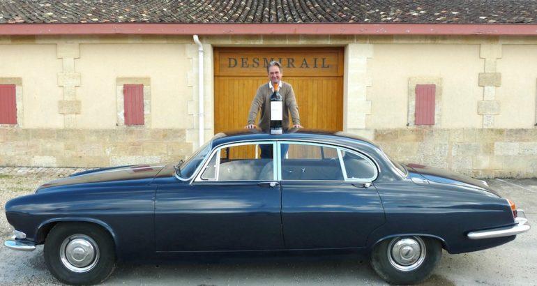 Une auto XXL à Margaux, la Jaguar MK X