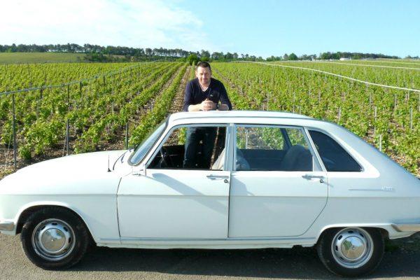 Une Renault 16 dans les bulles auboises