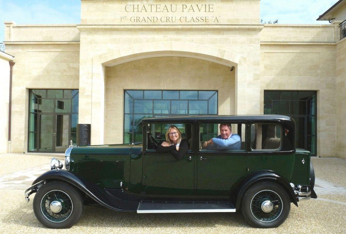 Le cador de Saint-Emilion aime les vieilles Citroën