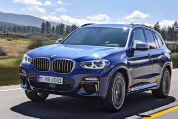 BMW X3 comme génération 3