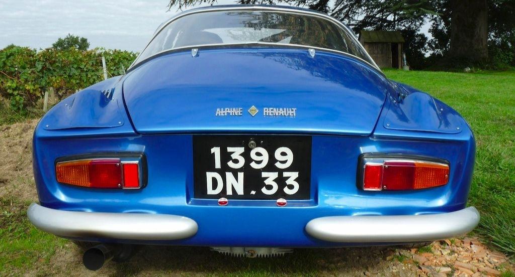 C'est la vue de l'Alpine qu'avaient le plus souvent les autres pilotes !