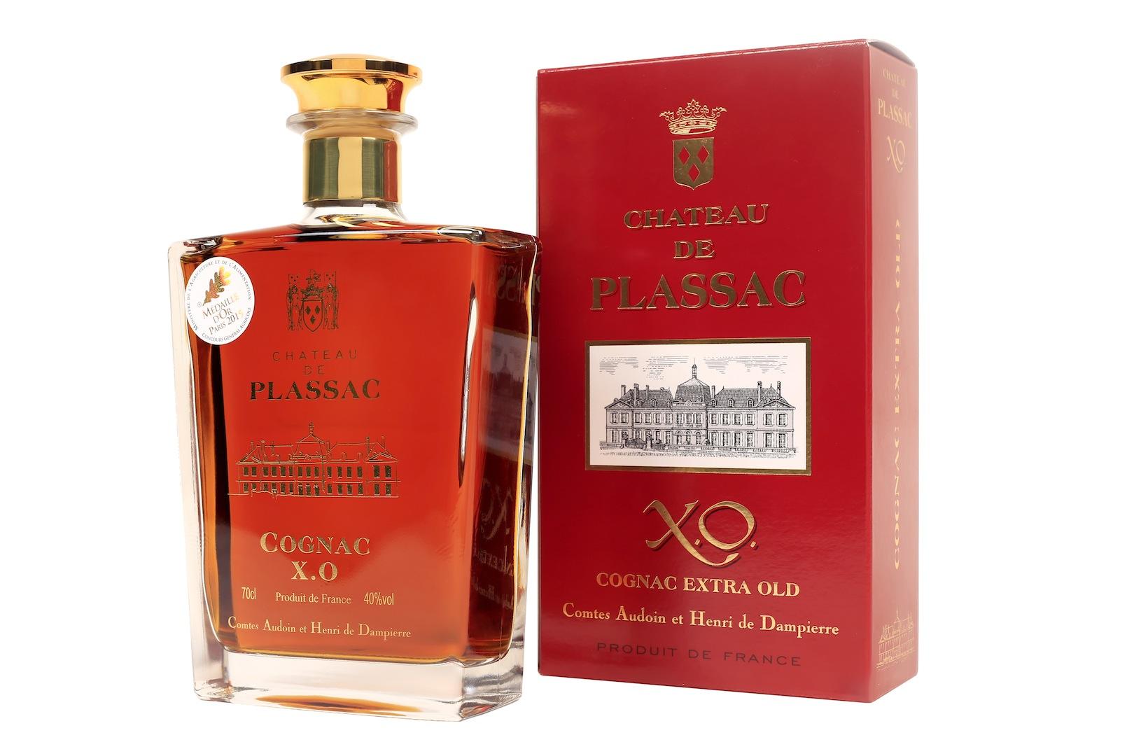 carafe cognac château de Plassac