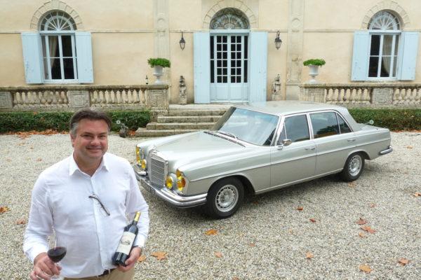 Une Mercedes franco-allemande à Margaux