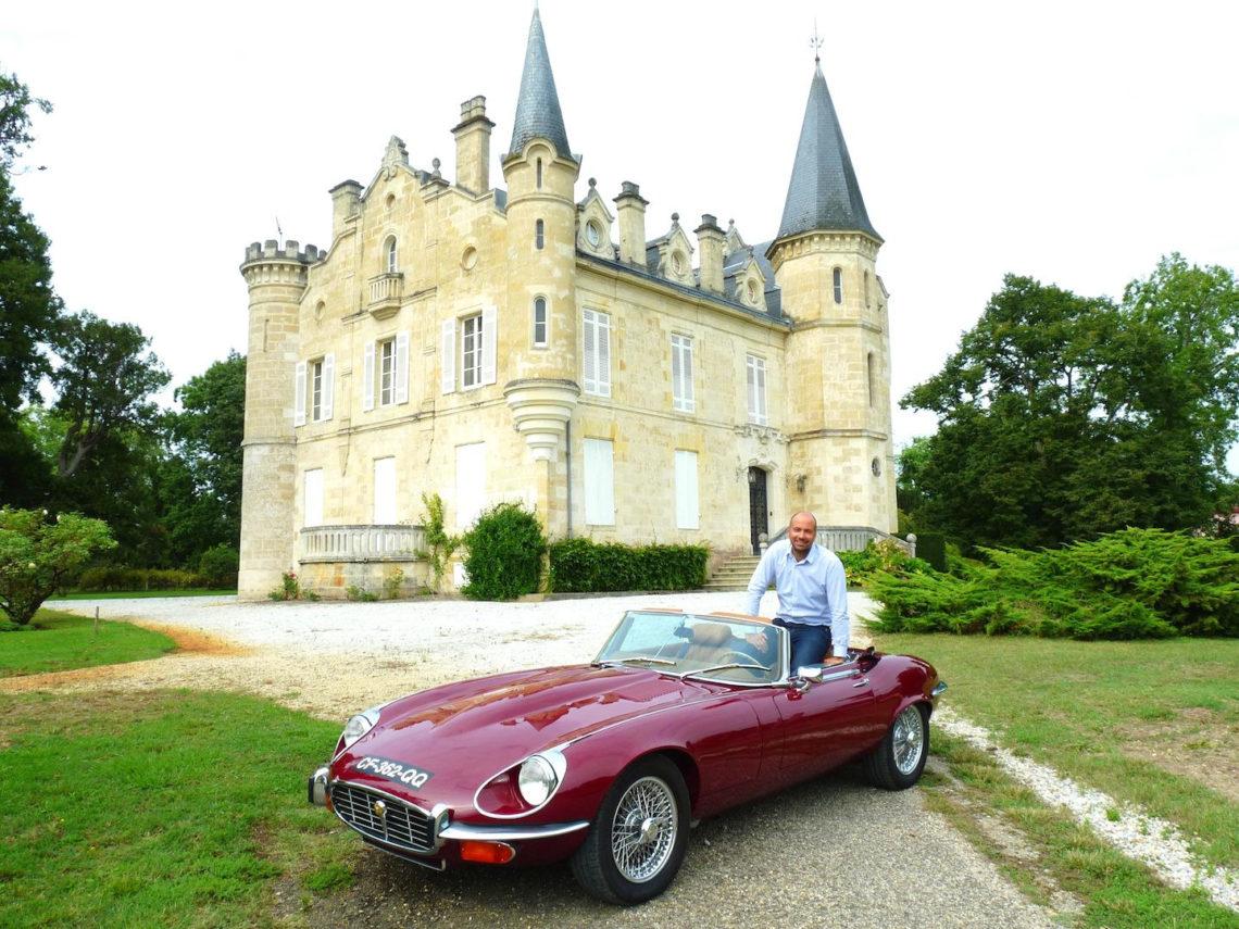 Un bijou à Pessac-Léognan, la Jaguar Type E V12