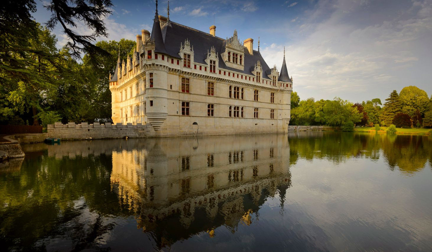 Azay-le-Rideau, la perle romantique du val de Loire. (Photo Leonard de Serres)