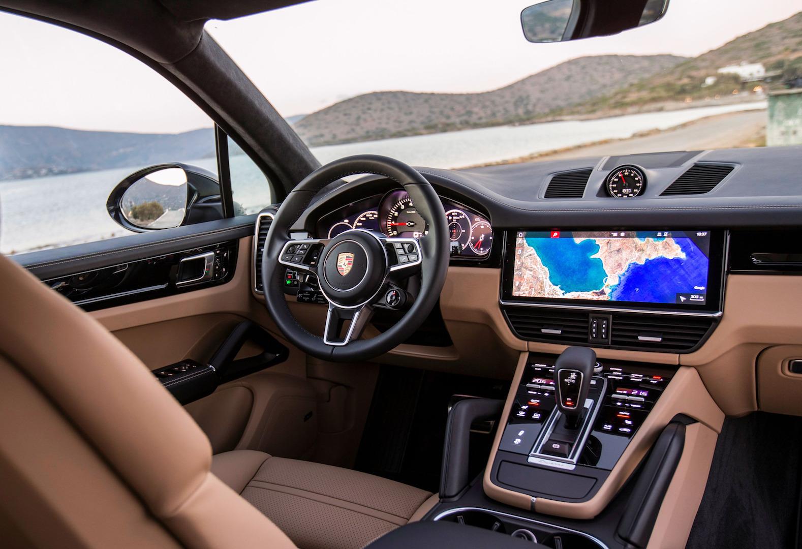 Le Porsche Cayenne S au summum de sa forme