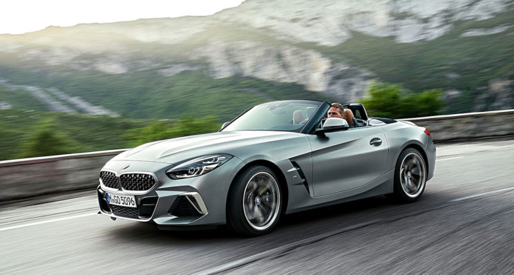 BMW Z4 , la tradition cheveux au vent revient