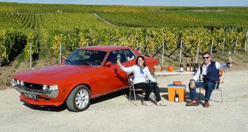 La Toyota Celica bulle en Champagne