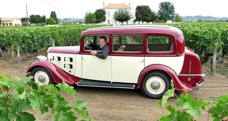 Peugeot 301, une belle lionne à Saint-Emilion