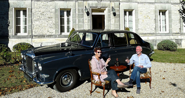 Daimler DS 420 at home