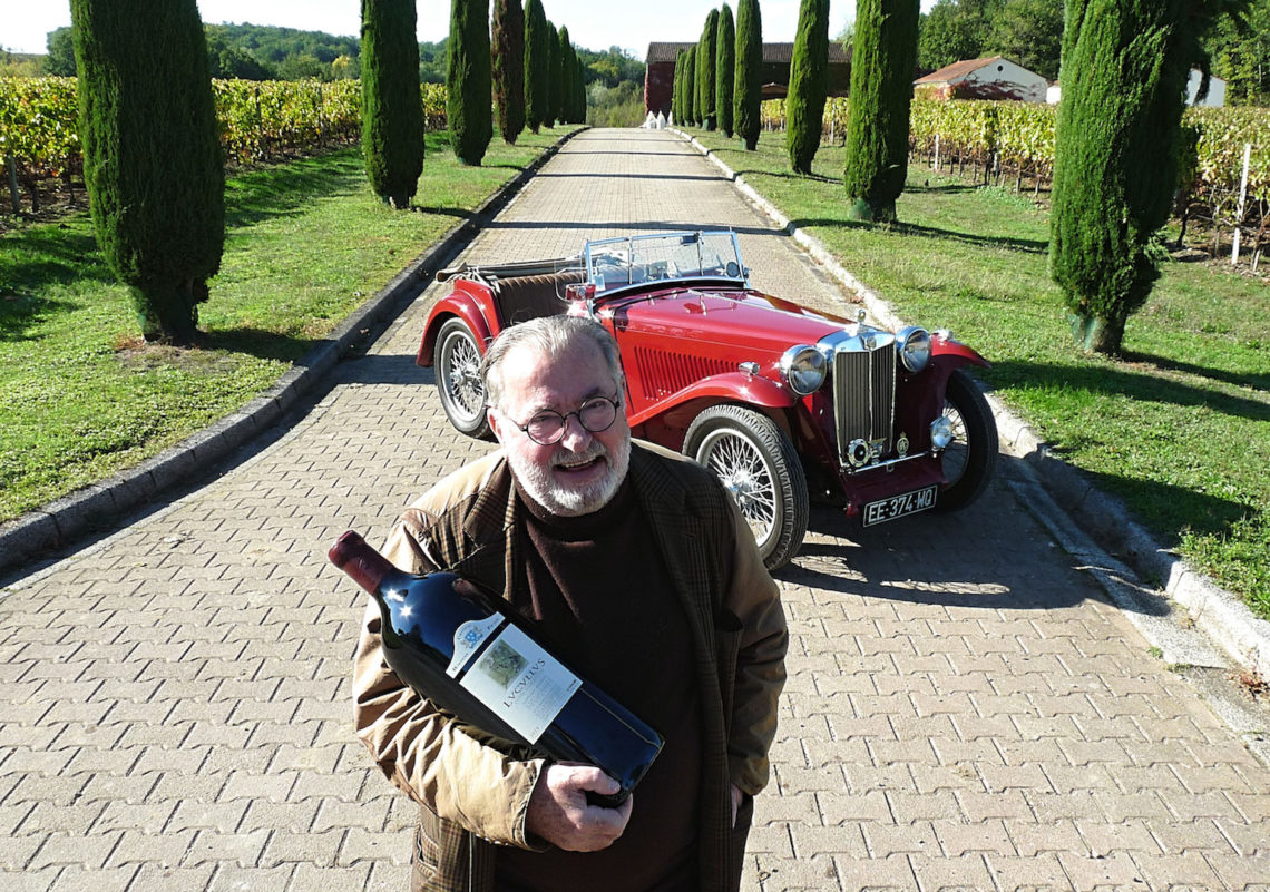 "Une MG TC ""so british"" chez un épicurien du vin"