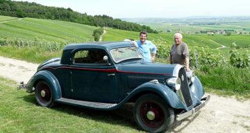 Une Hotchkiss coupé basque rescapée de l'Histoire