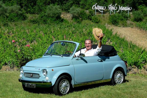 Rarissime, la Fiat 500 Maggiolina vous salue bien !
