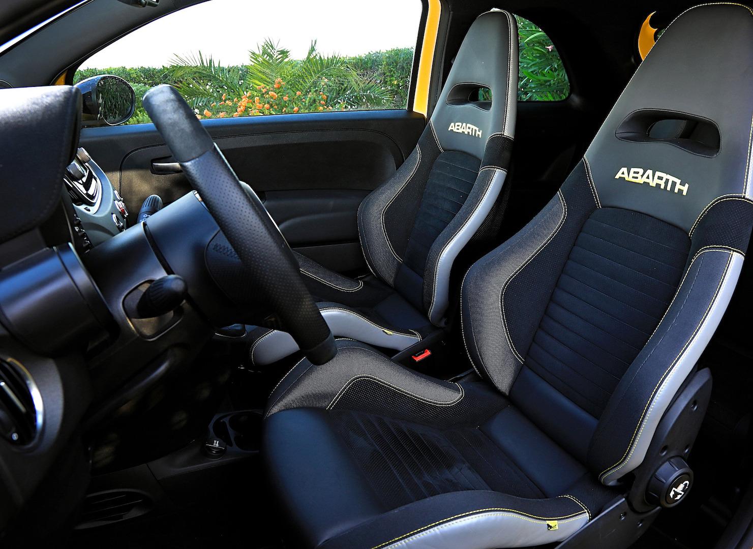 Fiat 500 Abarth 595 Competizione : une furie !