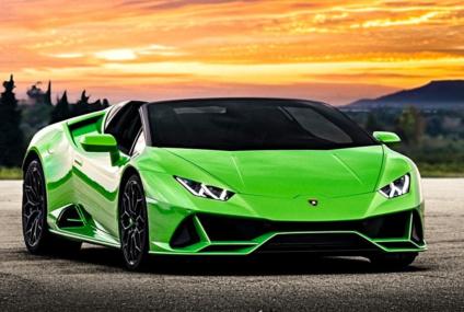 L'ébouriffante Lamborghini Huracan Evo spider