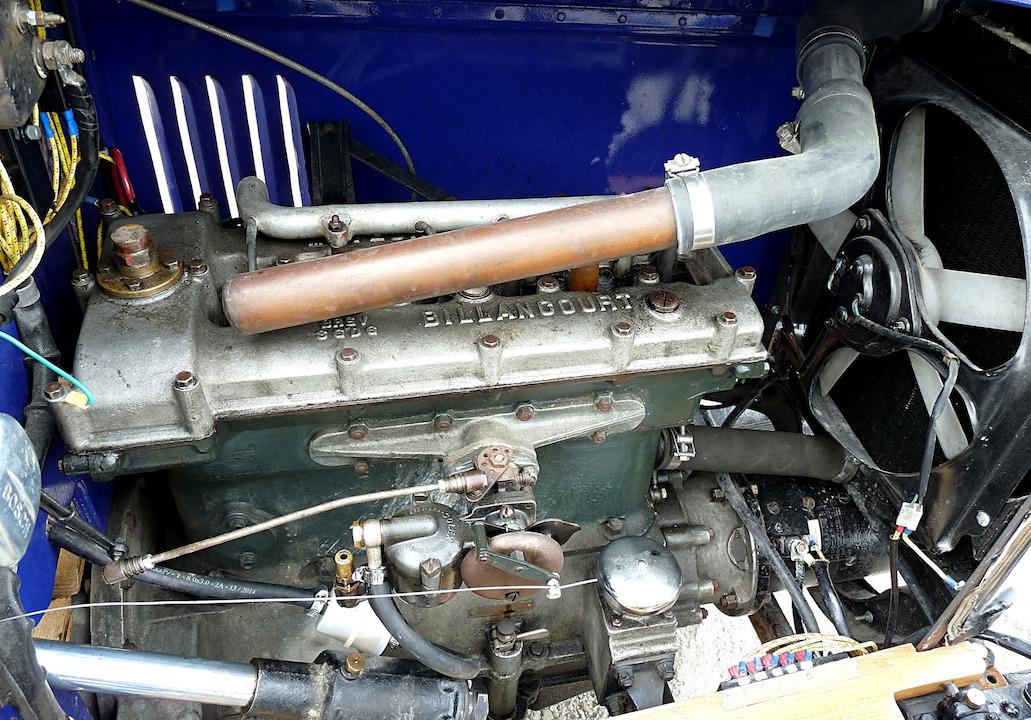 Salmson S4 sport -moteur