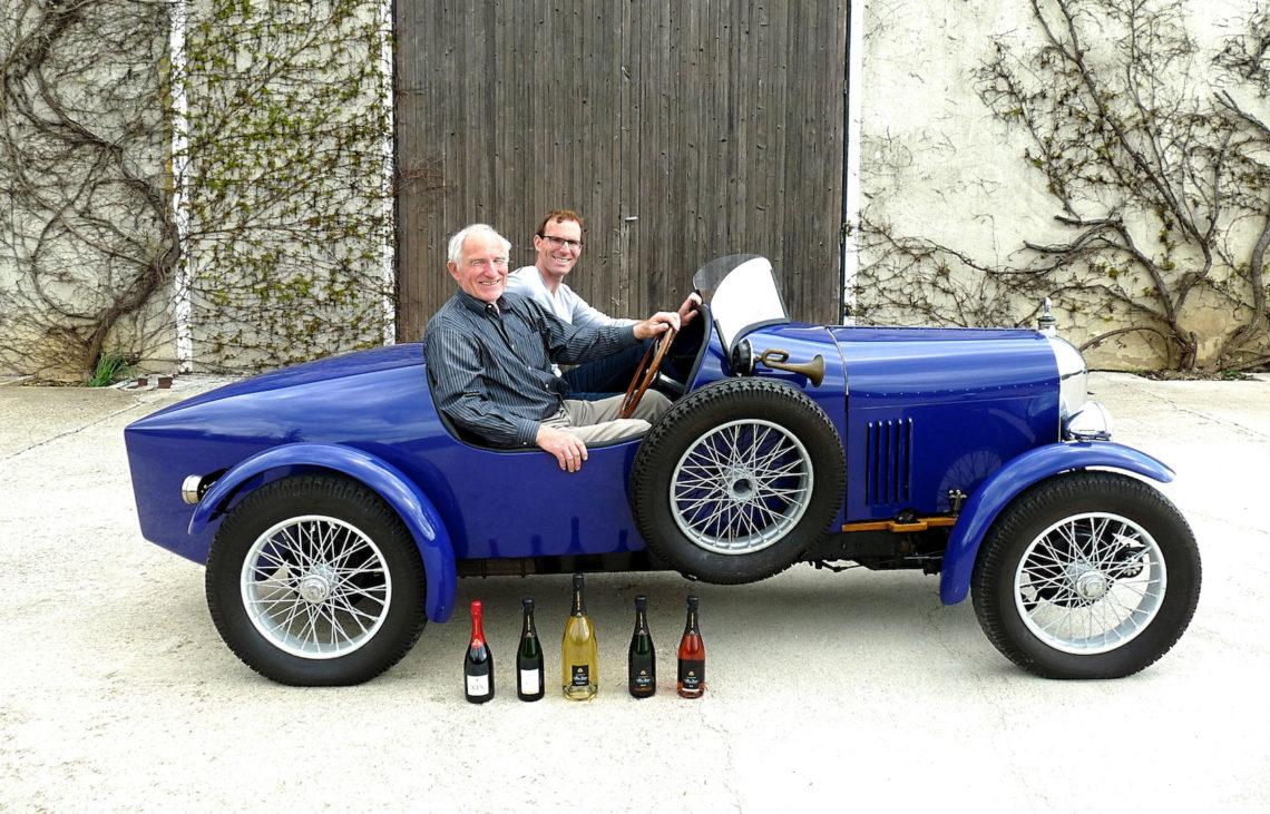 Salmson S4 sport du producteur de champagne Alain Demets