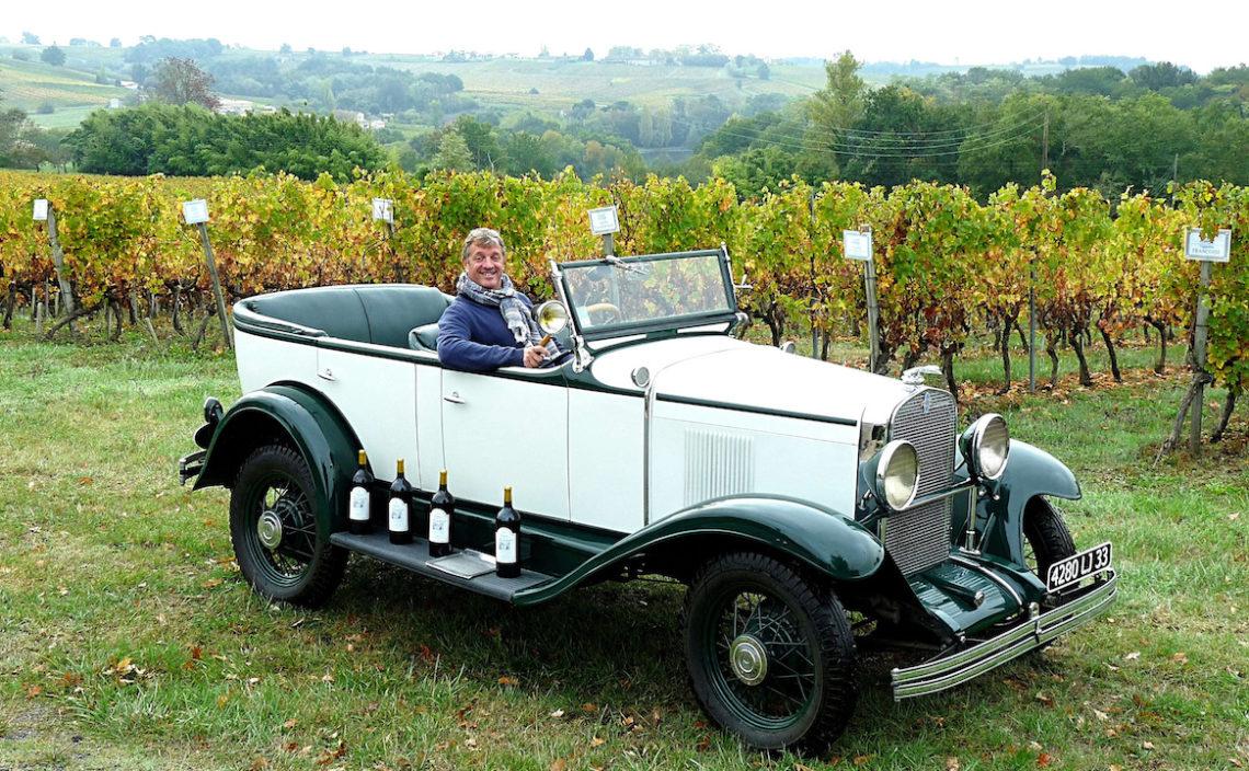 Une Chevrolet Universal 1930 à Cadillac